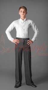 Рубашка-боди фрачн. белый трикотаж